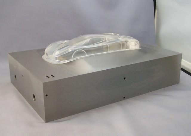 流路金型ハイサイクル金型アクリルモデル